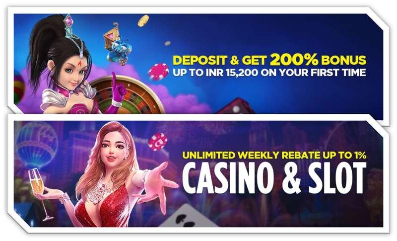 Unlimited Weekly Rebate at Happyluke Slot Game