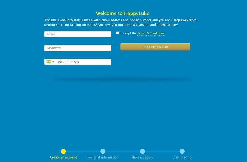 Easy Steps on How to Register Happyluke Online - Step2