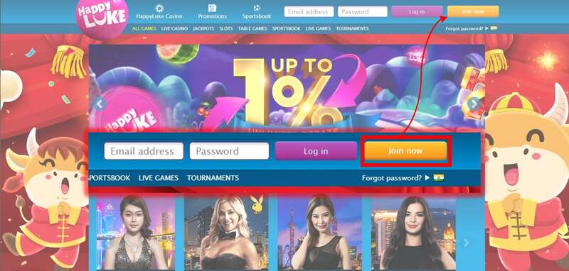 Steps on How to Play Slot in Happyluke - Join Now