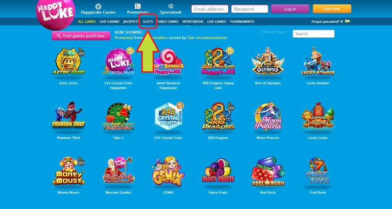 Steps on How to Play Slot in Happyluke - Slot PageSteps on How to Play Slot in Happyluke - Slot Page