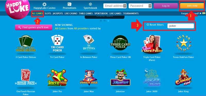 How to Play Online Poker Games That Make Money in HappyLuke