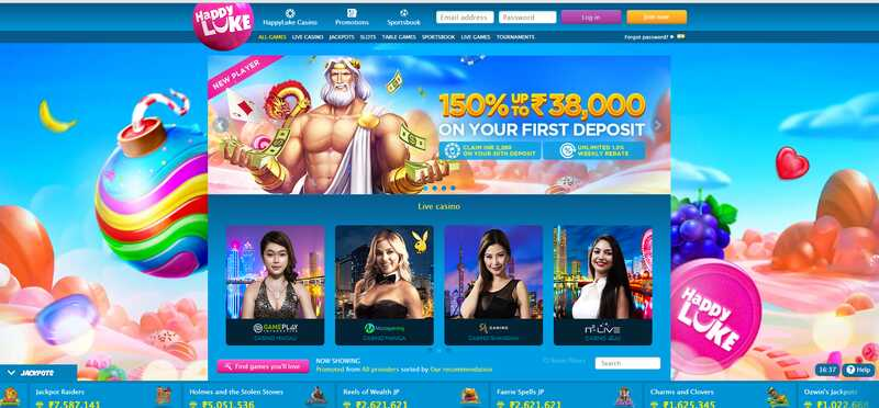 Get Happyluke India Promos and Play Now