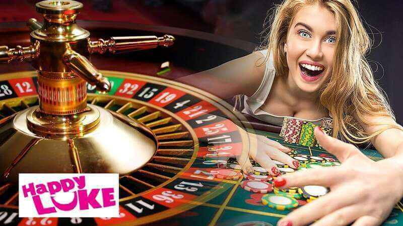 Real Life Thrills with HappyLuke Roulette Casino Live