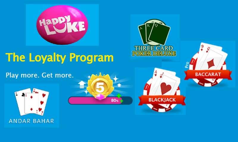 The Ultimate Card Game Bonus HappyLuke with The Loyalty Program